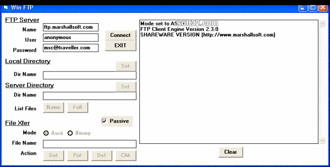 FTP Client Engine for Visual Basic Screenshot 2