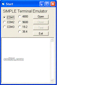 Windows Std Serial Comm Lib for PowerBASIC Screenshot 3