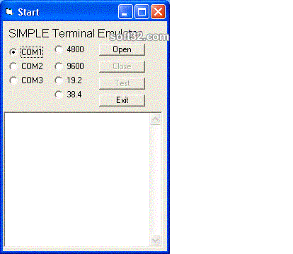 Windows Std Serial Comm Lib for dBase Screenshot 3