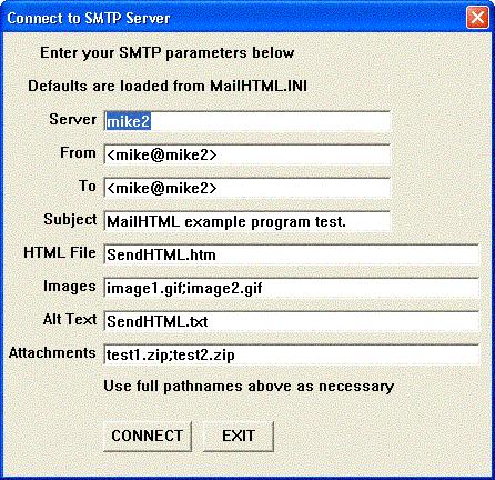 SMTP/POP3/IMAP Email Engine for Delphi Screenshot 1