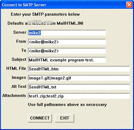 SMTP/POP3/IMAP Email Engine for PowerBASIC Screenshot 3