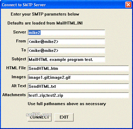 SMTP/POP3 Email Engine for FoxPro Screenshot 3