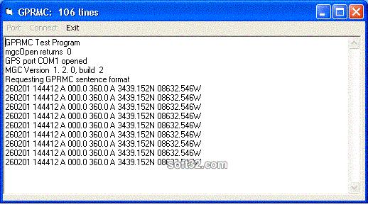 MarshallSoft GPS Component for VB Screenshot 2