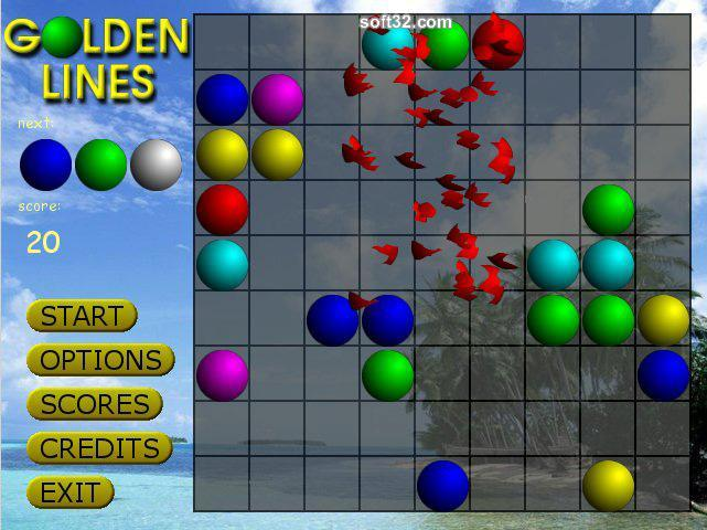 Golden Lines Screenshot 1