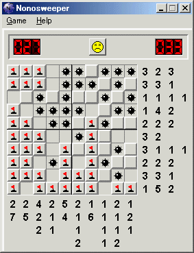 Nonosweeper Screenshot