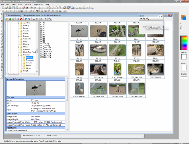 Photo Pos Pro photo editor Screenshot 2