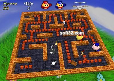 3D Pacman Screenshot 3