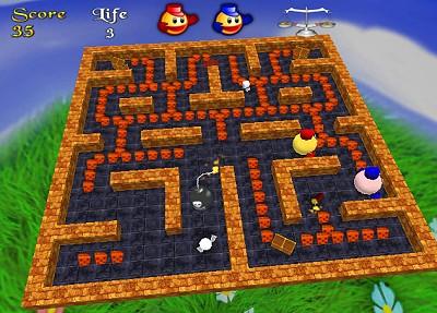 3D Pacman Screenshot