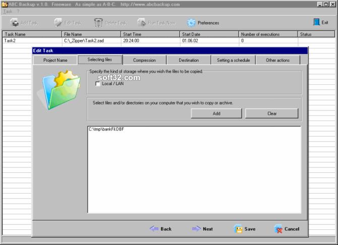 ABC Backup Screenshot 3