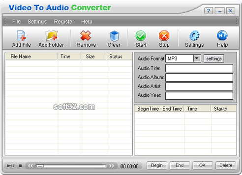 Video-to-Audio-Converter Screenshot