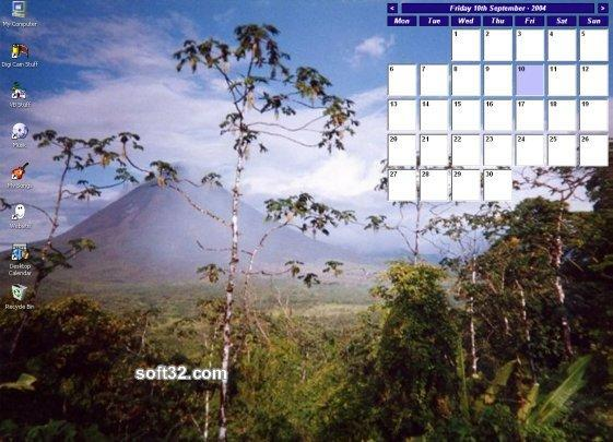 Tinnes Desktop Calendar Screenshot 3