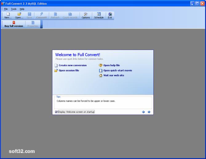 Full Convert Enterprise Screenshot 3