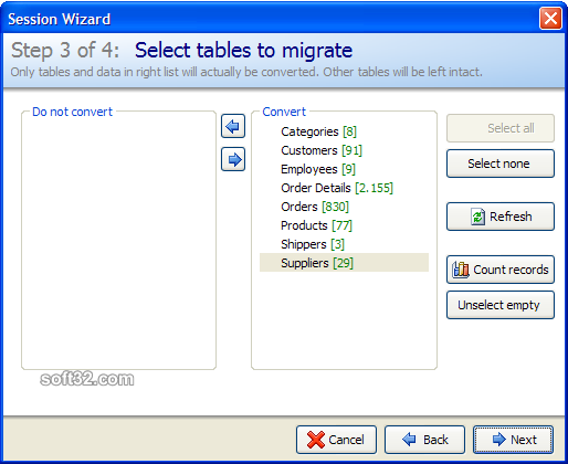 Full Convert Enterprise Screenshot 6