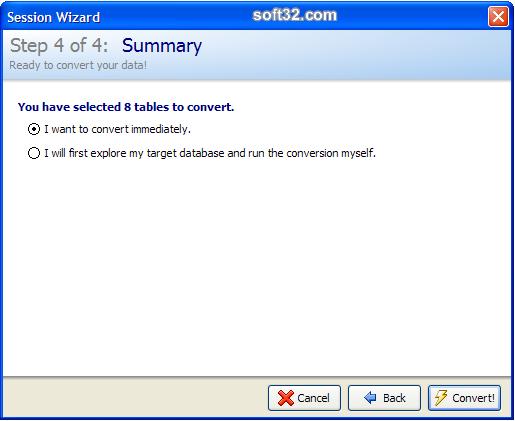 Full Convert Enterprise Screenshot 7
