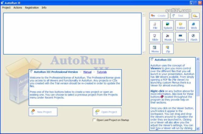 AutoRun Typhoon Screenshot 2