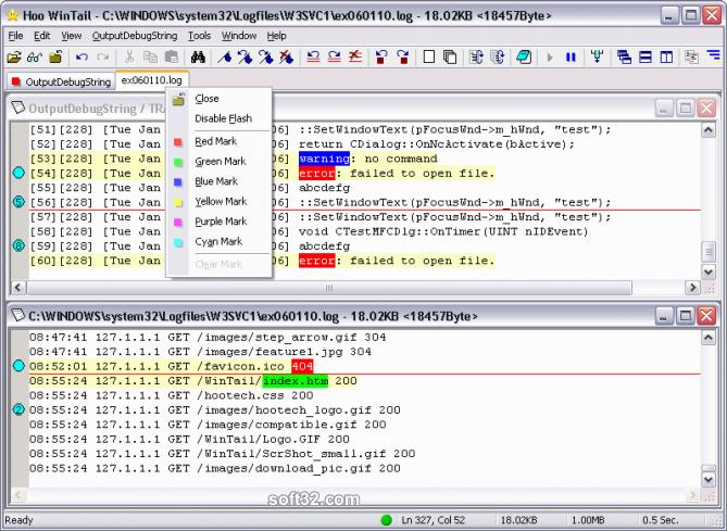 Hoo WinTail Screenshot 3