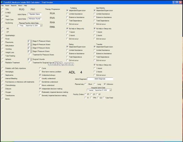 FutuRUG Medicare Intake Screenshot 2