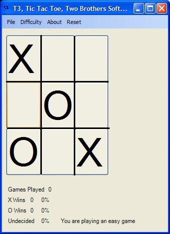 T3 Tic Tac Toe Screenshot