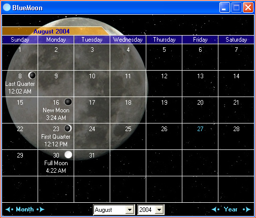 BlueMoon Basic Screenshot