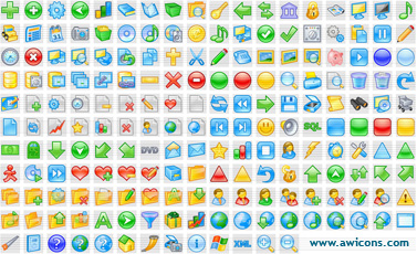Artistic Icons Collection Screenshot 1