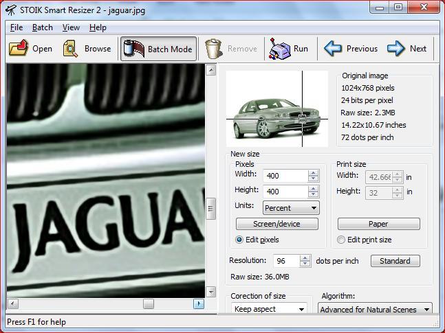 STOIK Smart Resizer Screenshot