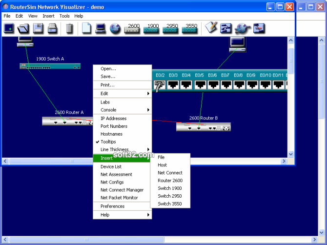 CCNA Network Visualizer Screenshot 3