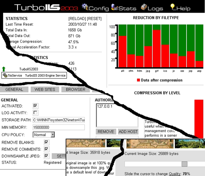 2003 TurboIIS Screenshot