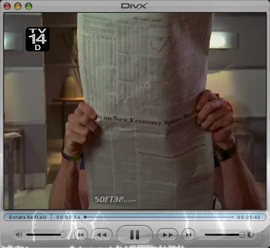 DivX Pro for Mac (incl DivX Player) Screenshot 6