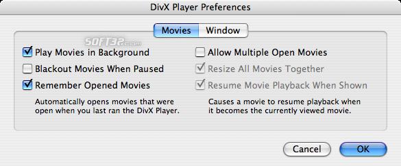 DivX Pro for Mac (incl DivX Player) Screenshot 7
