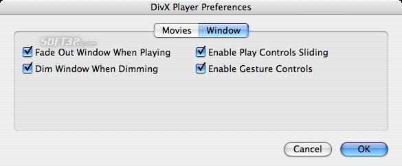 DivX Pro for Mac (incl DivX Player) Screenshot 8