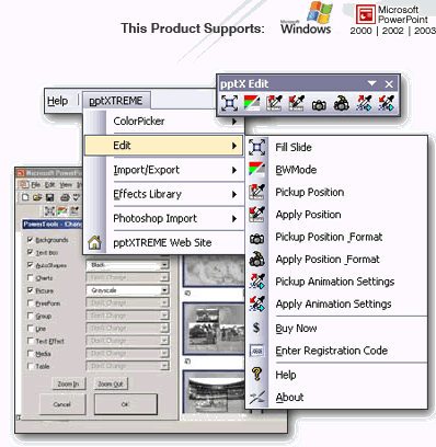 pptXTREME Edit for PowerPoint Screenshot