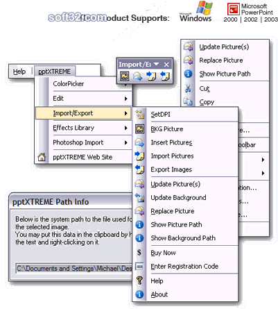 pptXTREME Import Export for PowerPoint Screenshot 3