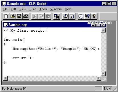 CLR Script Screenshot 3