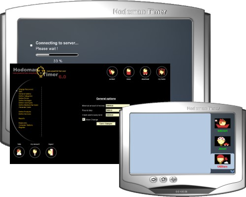 Hodoman Timer :: Internet Cafe Software Screenshot