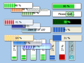 ProgressBarXP Screenshot 2
