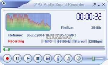 MP3 Audio Sound Recorder Screenshot 2