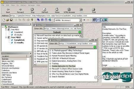Tree MDI Screenshot 2