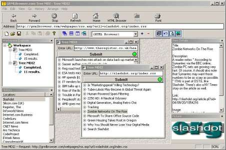 Tree MDI Screenshot 1