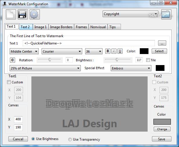 DropWaterMark Screenshot 6