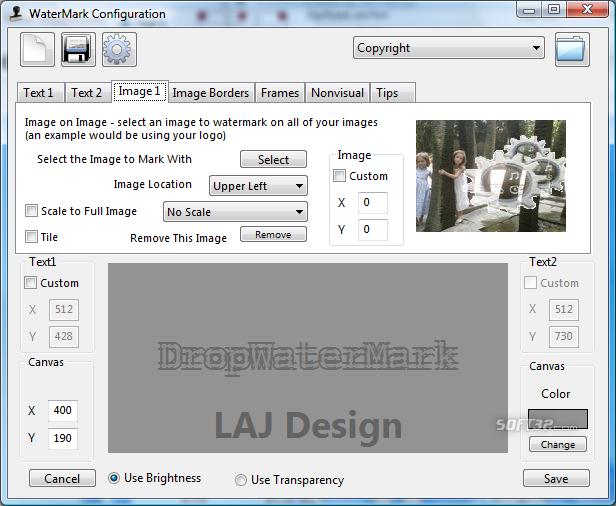 DropWaterMark Screenshot 7