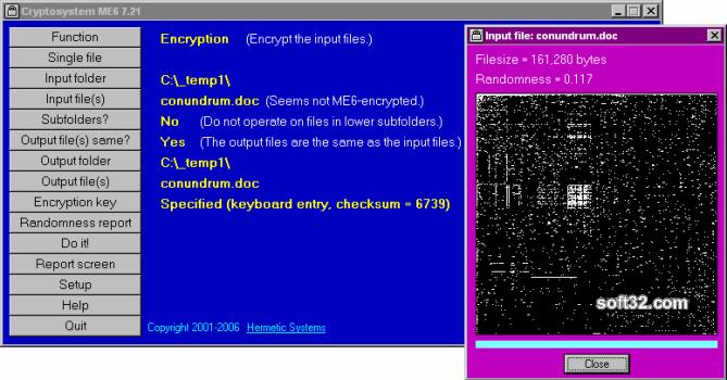 Cryptosystem ME6 Screenshot 3