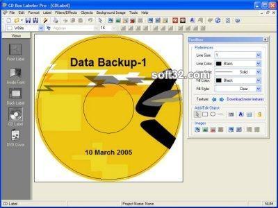 CD Box Labeler Pro Screenshot 3