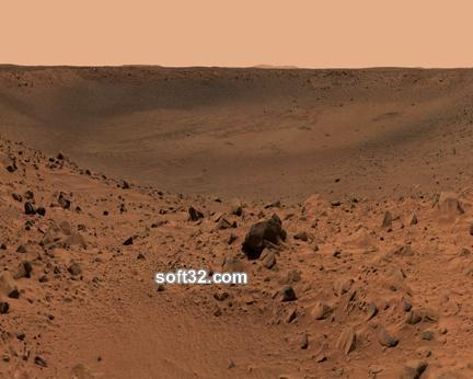 Walking on Mars Screensaver Screenshot 2