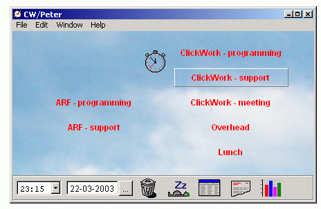 ClickWork Screenshot