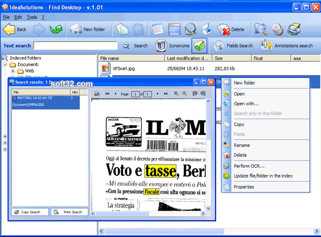 Find Desktop Standard Screenshot 2