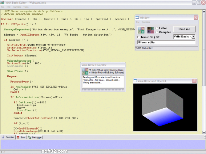 VMM Basic Screenshot