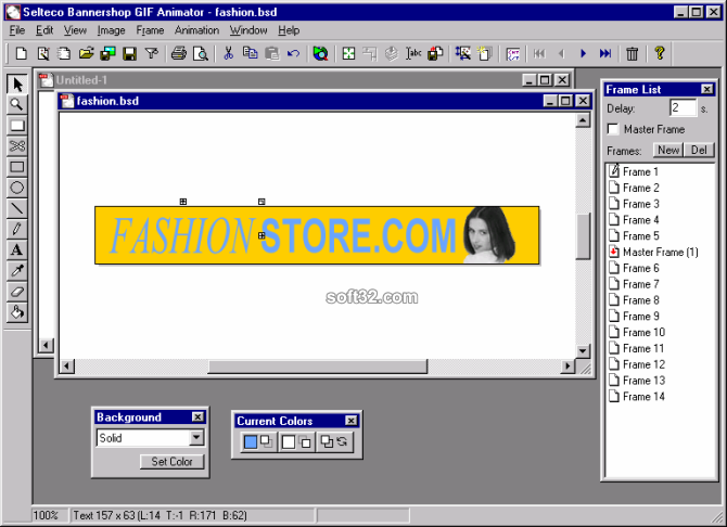 Bannershop GIF Animator Screenshot 2