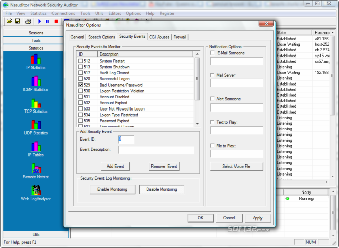 Nsauditor Network Security Auditor Screenshot 4