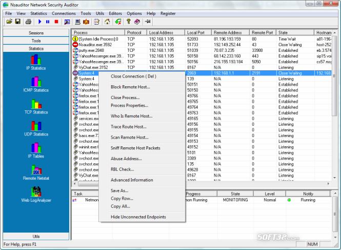 Nsauditor Network Security Auditor Screenshot 5