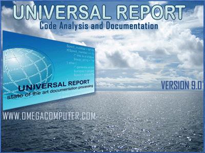 Universal Report Screenshot 1